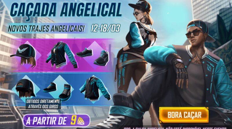 Conjunto Angelical Chega Sem A Calca Angelical Mania Free Fire